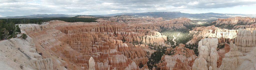 Panorama Bryce