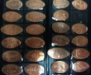 Souvenirs from The States Pennies - Mapje