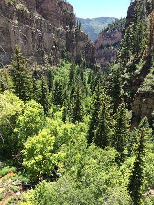 Hanging Lake Colorado - Onderweg