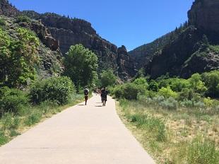 Hanging Lake Colorado - Weg naar de Trail