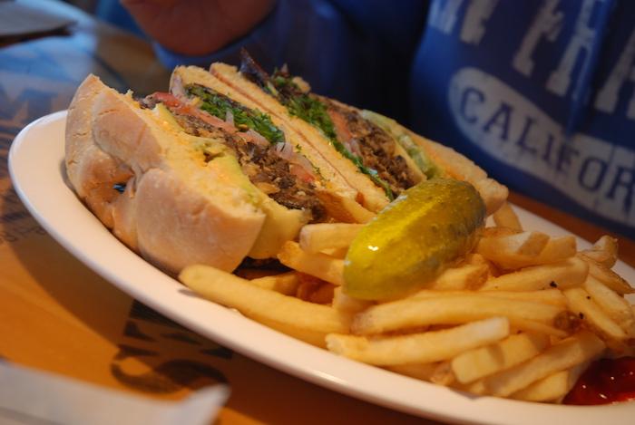 Vegetarisch eten in Amerika - Bubba Gump
