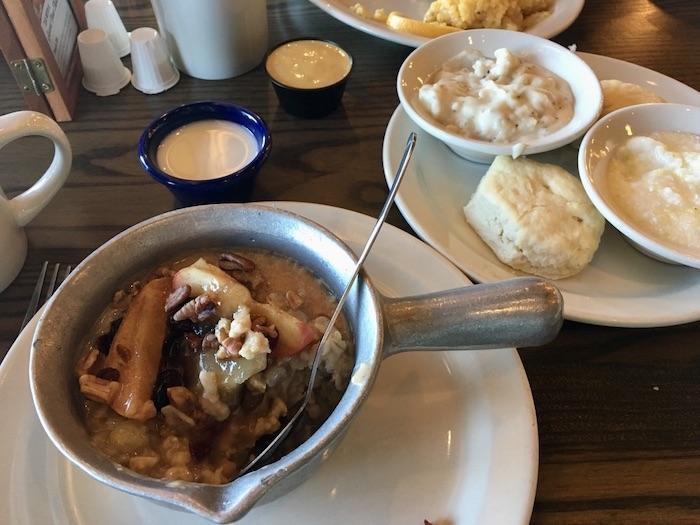 Vegetarisch eten in Amerika - Cracker Barrel