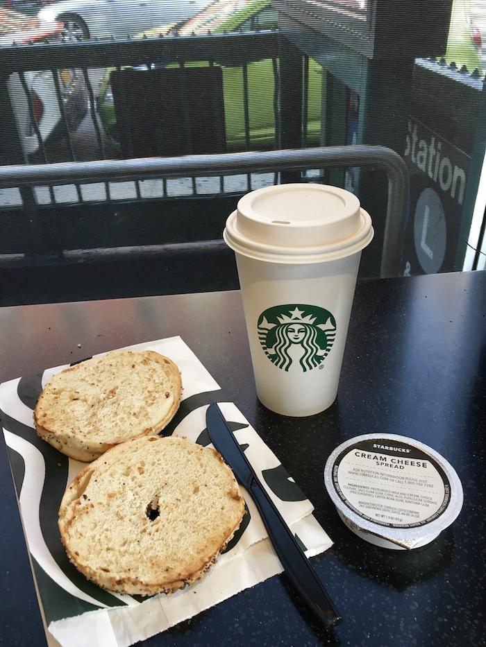 Vegetarisch eten in Amerika - Starbucks