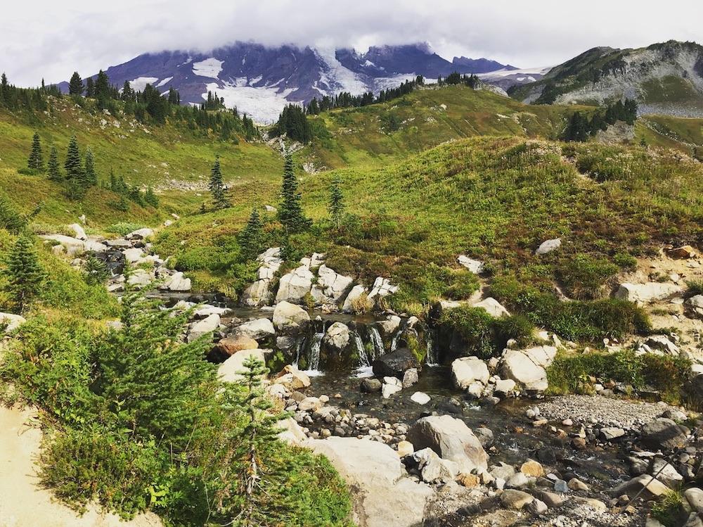 Voorbeeldroute Seattle - San Francisco - Mount Rainier