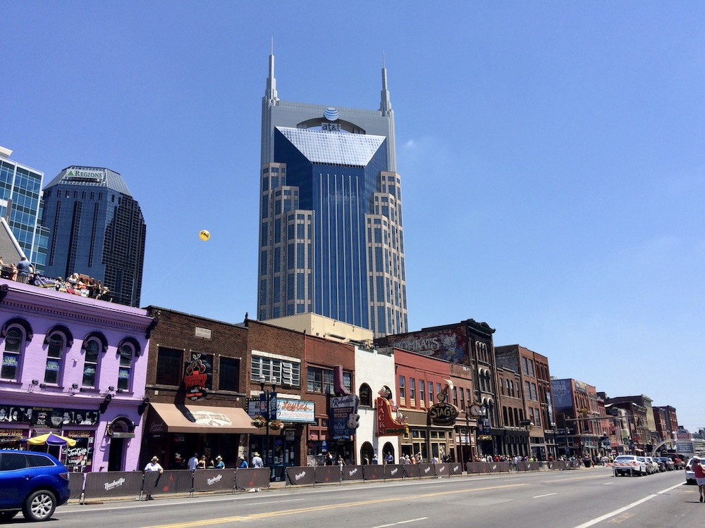 Voorbeeldroute Washington DC - Miami - Nashville