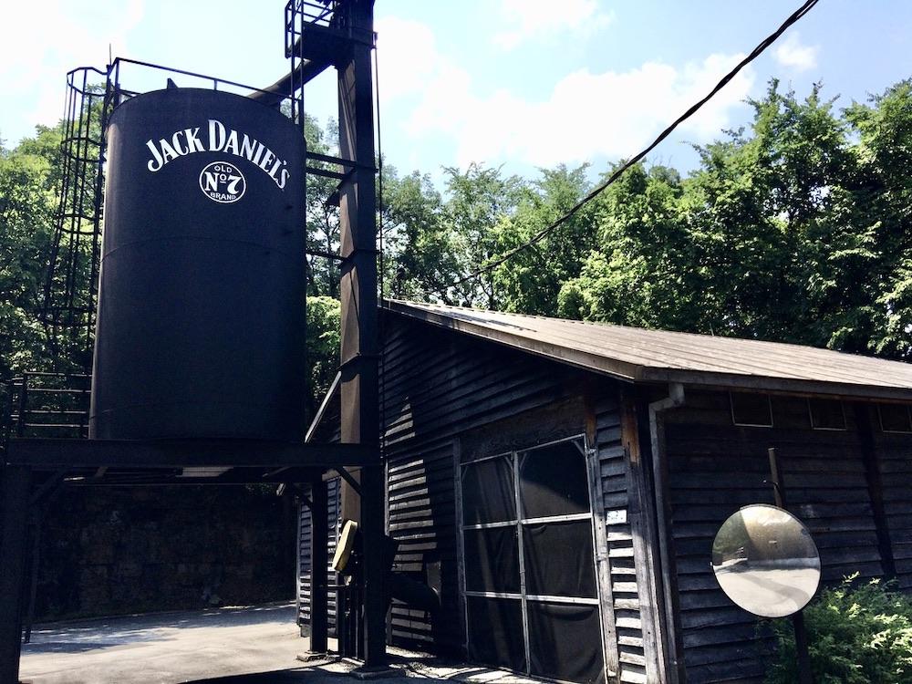 Jack Daniel's Distillery Tennessee - De Tour