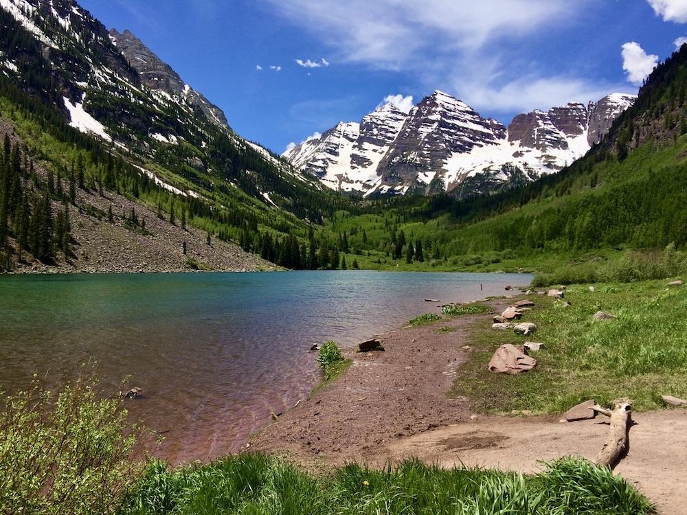 Voorbeeldroute: Colorado en New Mexico - Maroon Bells