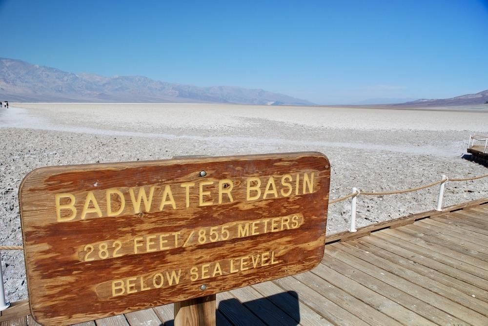 Voorbeeldroute rondreis West-Amerika - Death Valley
