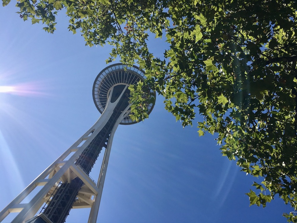 5 Highlights van Washington State - Space Needle