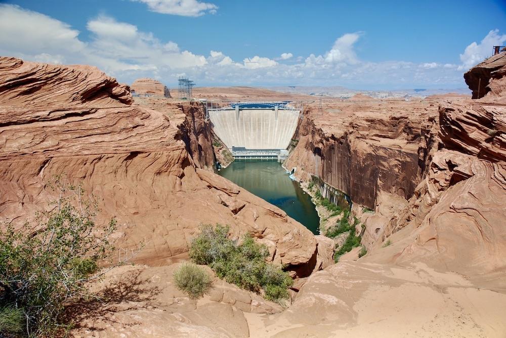 Doen in Page Arizona - Glen Canyon Dam