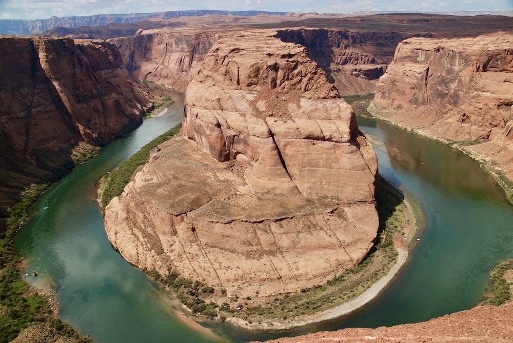 Doen in Page Arizona - Horseshoe Bend