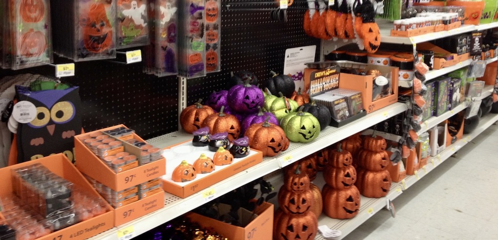 Halloween in Amerika - Decoraties