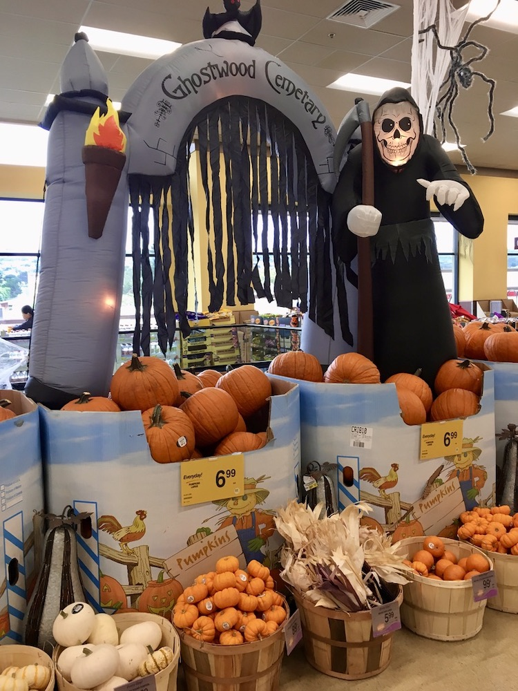 Halloween in Amerika - In de supermarkt