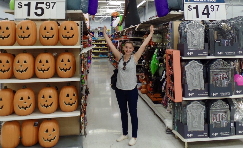 Halloween in Amerika - In de Walmart