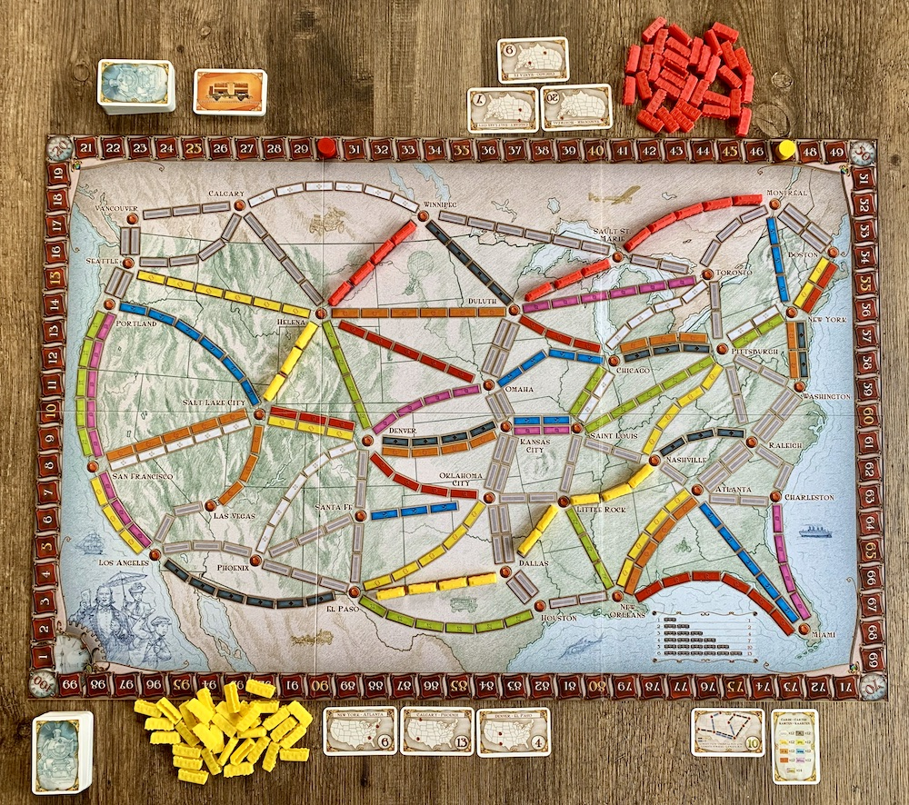 Cadeautips voor Amerikafans - Ticket to Ride USA