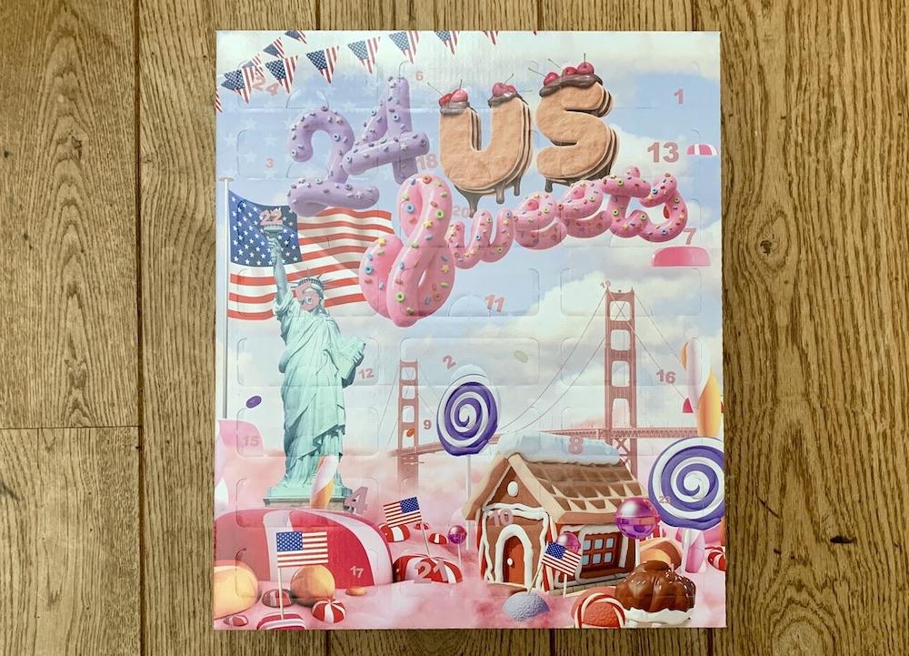 Cadeautips voor Amerikafans - US Sweets Adventskalender