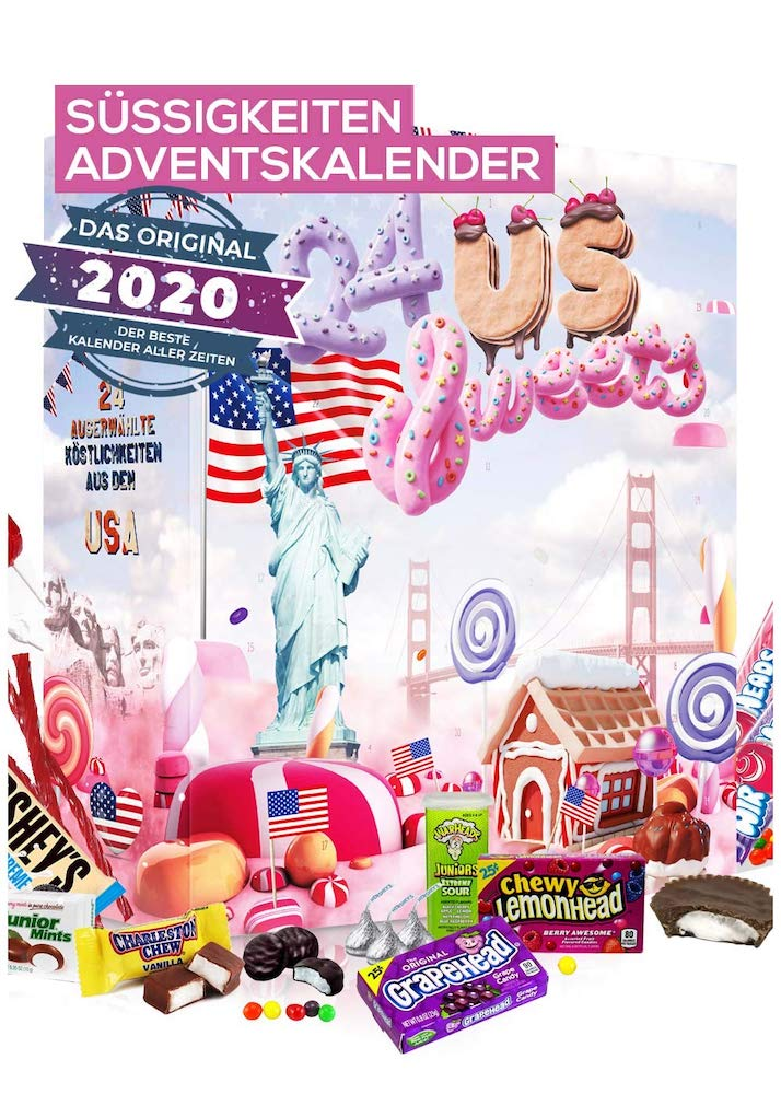 US Sweets Adventskalender - Amerikaans snoep