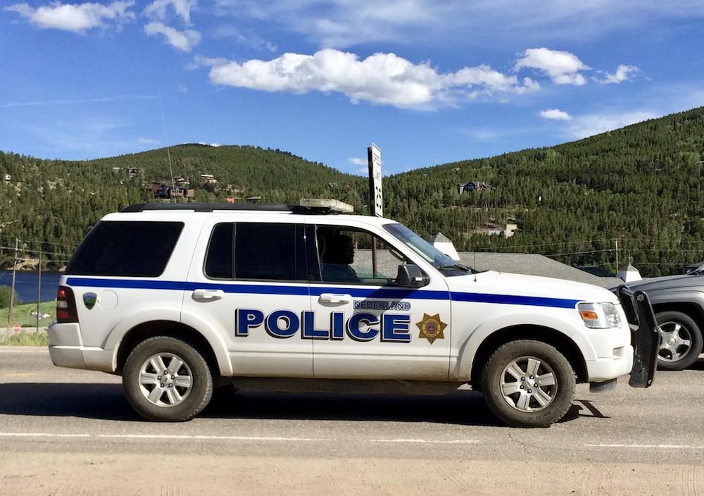 Autorijden in Amerika - Politieauto