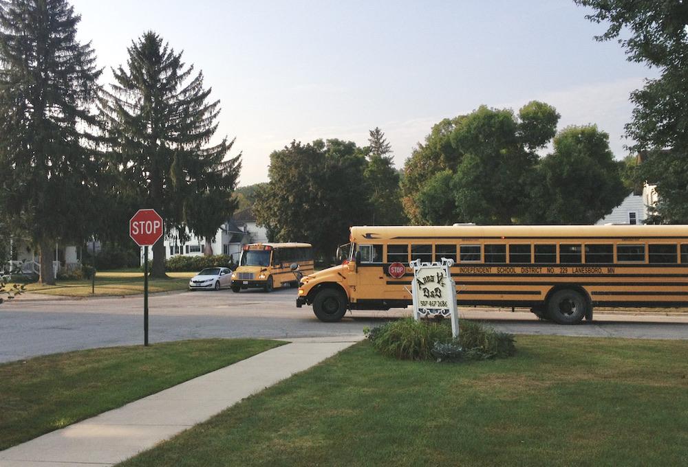 Autorijden in Amerika - Schoolbus