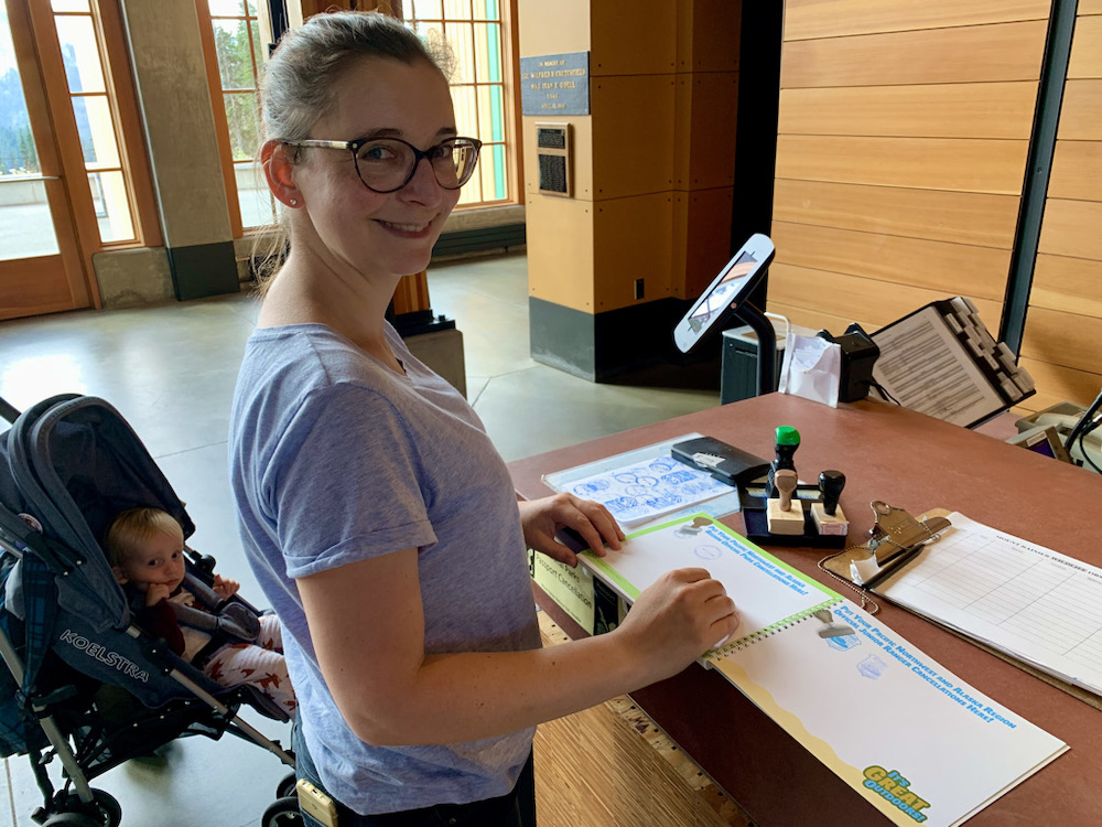 Junior Ranger Passport - Stamp Station